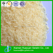 gelatin characteristics for food or pharmaceutical