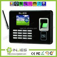 INJES 2.8inch Display 3000 User TCP IP USB WIFI GSM Biometric security fingerprint attendance device