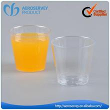 Wholesale oem disposable frosty plastic mug cup for hotel