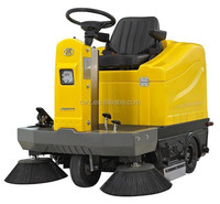 Hot sell electric small street road sweeper