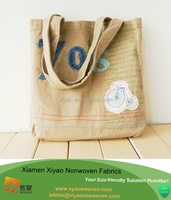 wholesale custom cotton bag embroidery logo