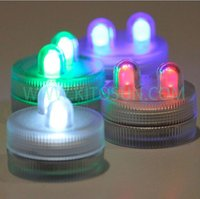 Waterproof Submersible 2 LED ights for wedding