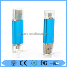 Wholesale high speed 8gb-128gb otg usb flash drive with cheap cost