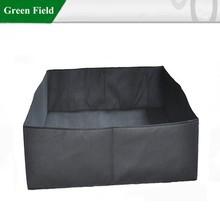 Campo verde forro para jardim cama, forro de feltro