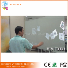 Screen film for display and interactive, touch foil through glass