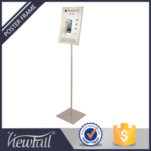 Shopping malls removable metal post stand
