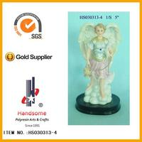 Wholesale large decorative with wooden base Guardian Angel