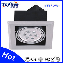 Safety and environmental protection square t8 fluorescent grille 45 Light Angle dubai ceiling light
