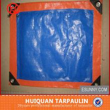 Durabe blue flame retardent poly tarps