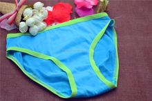 Cotton girl panty briefs seamed lingerie kids underwear for girls