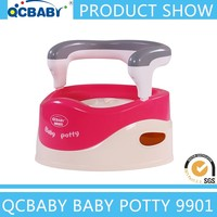 New design plastic cute animal toilet trainer,high quality plastic baby toilet, kid potty