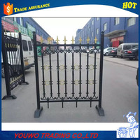 High quality iron casting fence/EUR type cast iron fence and iron door factory
