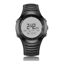 Free sample/barometer altimeter compass watch/silicon watch