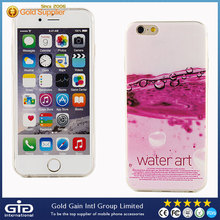 [NP-2115]Ultra Thin TPU Case with IMD Colored Drawing Pattern for iPhone 6, welcome OEM