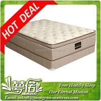 modern euro top hotel bed mattress queen with sprung