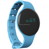 Activity tracker sleep monitor smart electronic bluetooth sport step counter watch with silicone bracelet