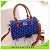 Wholesale new products waterproof silk lady handbag made in china
