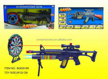 Best quality design music and flashing bubble toy gun
