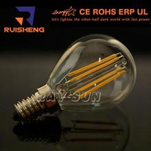 Clear Glass LED Bulb G45 3W E14