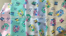 bear design pongee fabric for baby mattress cover