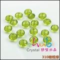 Preço de fábrica 8*10mm cristal esferas de vidro plano
