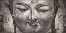 Hot Selling Indian Gods Buddha abstract oil painting