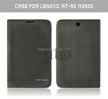 Spot goods leather flip case for lenovo a3500