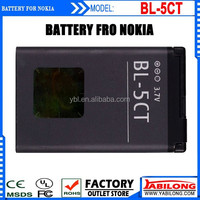 Brand New BL-5CT Full Capacity 1020mAh Mobile Phone Battery Batteries for NOKIA BL-5CT/5220XM/6303C/6730C/C3-01/C3-01m/C5-00/