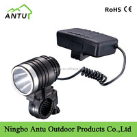 super brightness head light CREE XPE 18650rechargeable bike front light
