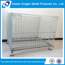 new arrival equipment steel folding storage cage