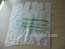 Eco-friendly compostable bag made of cornstarch