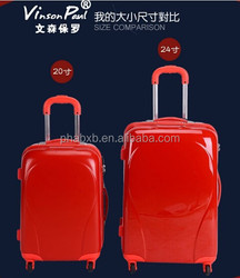 2015 newly developed bestselling luggage 28 inch for European market