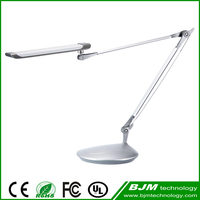 Christmas gift 3 levels touch control 13W fancy iron reading lamp , led folding table light