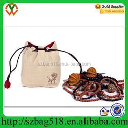 hot sall OEM custom drawstring bag cotton