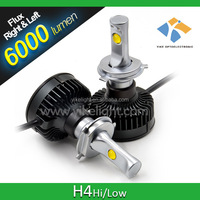 50w h4 h/l car led headlight replace h4 bi xenon hid kit 6000k 55watt