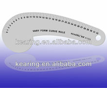 Kearing brand,aluminium sewing home equipment ruler,alumunim styling design curve ruler,vary form curve ruler#6132A