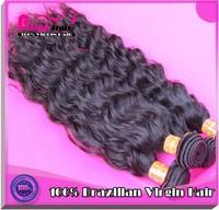 18 inch human hair weave Guangzhou Patiya good thick hair virgin hair Brazilian extensions