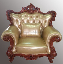danxueya foshan royal classical sofa /american country style leather sofa living room set leather sofa A11