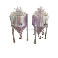 stainless steel fermenter with wheels
