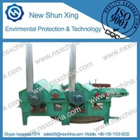 Multifunctional production line fibre waste recycling machine NSX-QT210 /2,3,4 rollers textile tearing machine