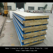 Factory Price for Rockwool Sandwich Panel For Wall