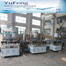 Straight - line red wine washing filling capping equipment