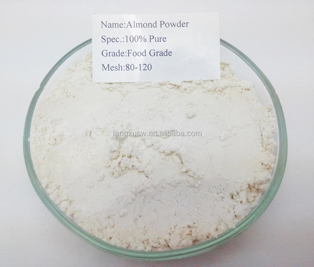 Granel 100% puro Beber saúde aditivos desengordurada farinha de amêndoa