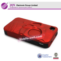 Hot selling cellphone pc tpu 2 in 1 case for iPhone 4 case