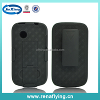 hard PC holster combo cover for ZTE V791