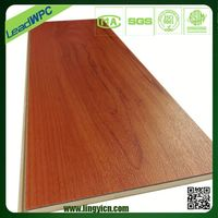 commercial waterproof wood grain pvc plastic laminate sports flooring