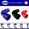 blue silicone tubing/90 degree elbow silicon rubber hose/90 degree elbow coupler