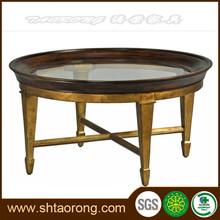Finitura in legno antico tavolino stile trct- 131