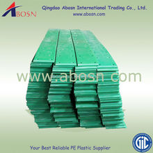 UHMW glass-filled wear strips/UHMW adhevise back wear strips/Oilon wear strips