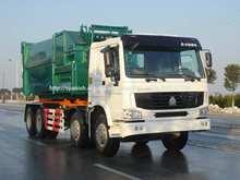 Sinotruk Howo camiones de basura para la venta en China